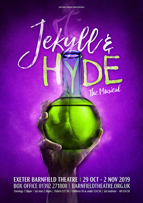 Musical theatre poster for Jekyll and Hyde the Musical