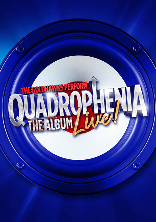 Live show concert poster design for Quadrophenia touring show UK