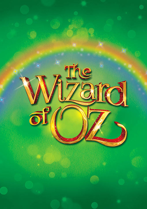 Theatrical title treatment logo design for classic musical theatre production, The Wizard of Oz